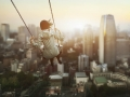Swinging Over The City